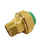 Male Thread Union Brass
